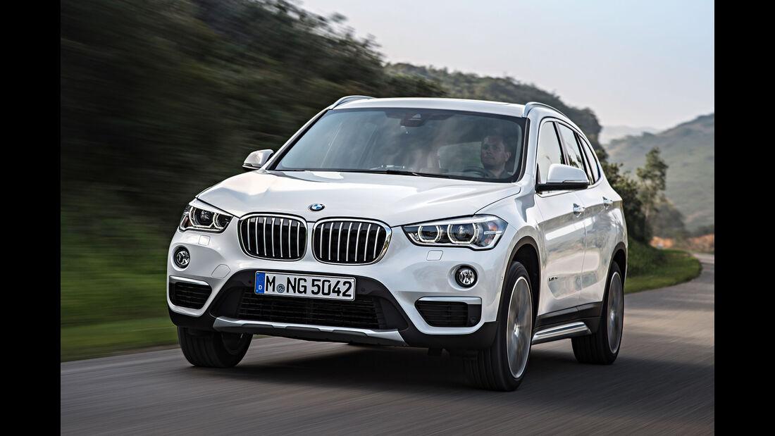 06/2015, BMW X1 Sperrfrist