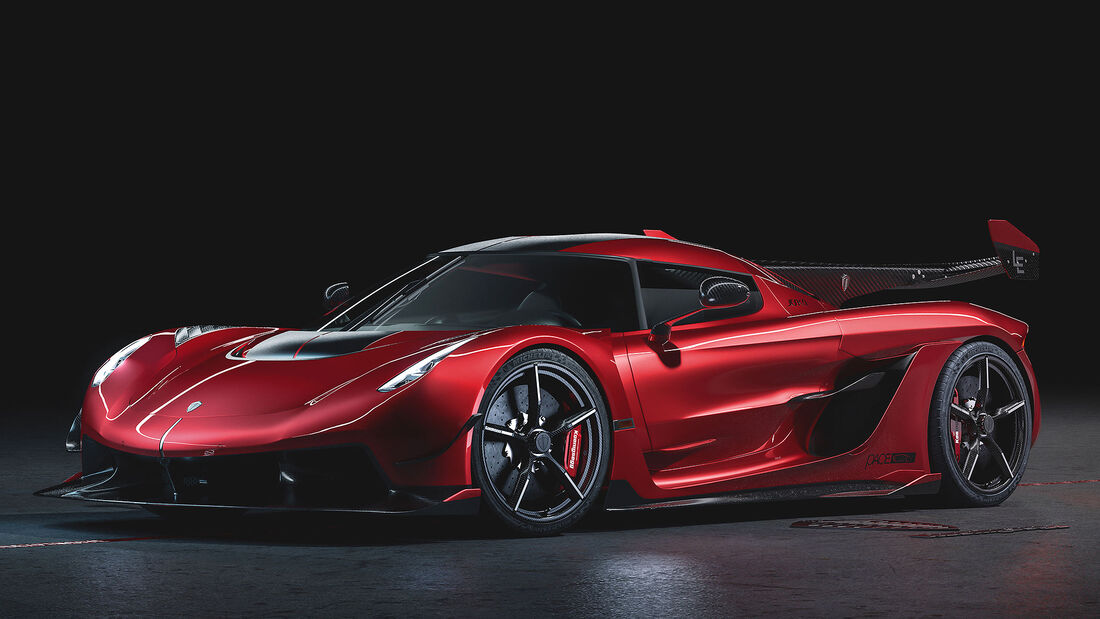06/2018, Koenigsegg Jesko Cherry Red Edition