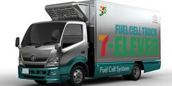 06/2018, Toyota FuelCell Truck Seven-Eleven