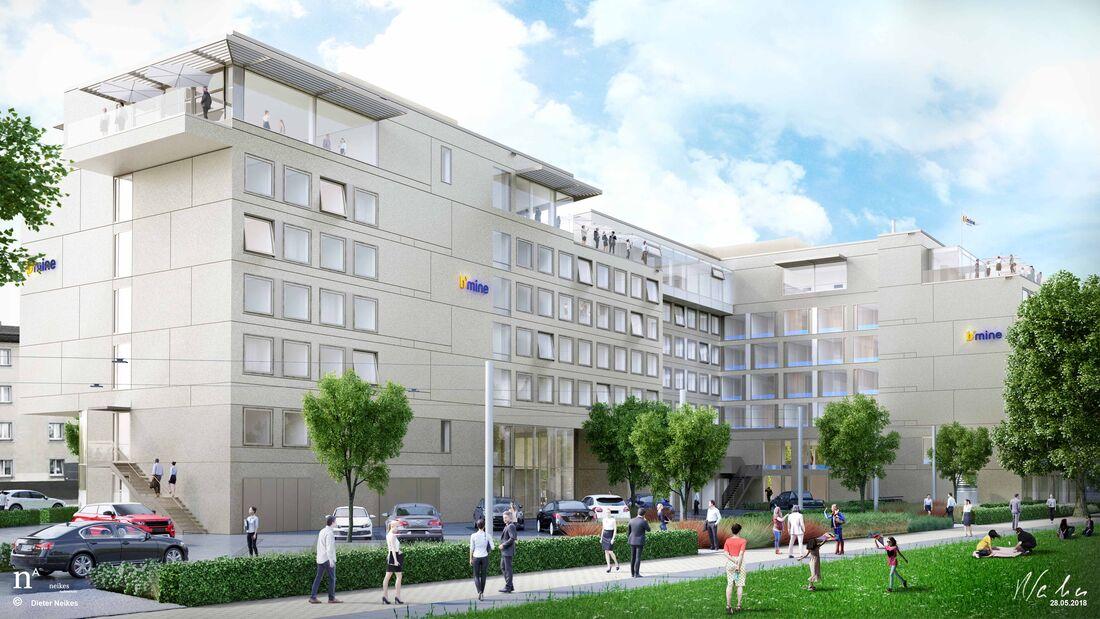 06/2018, b´mine Hotel Düsseldorf