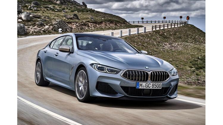 Neues Bmw 8er Gran Coupé 2019 Bilder Daten Auto Motor Und Sport