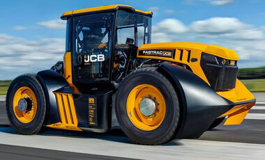 06/2019, JCB Fastrac Traktor
