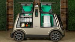 06/2019, Nuro Domino's Pizza Delivery Car