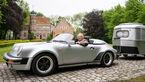 06/2019, Porsche 911 Speedster G-Modell mit Hymer Eriba Puck