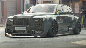 06/2019, Rolls-Royce Cullinan Widebody Sketch Yasid Design