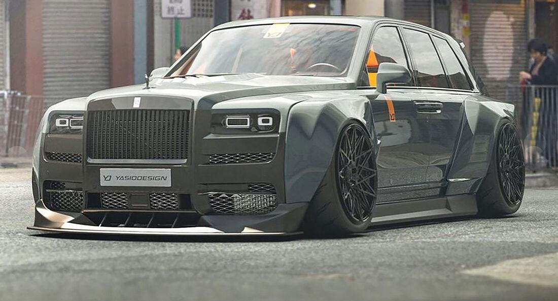06/2019, Rolls-Royce Cullinan Widebody Sketch Yasid Design