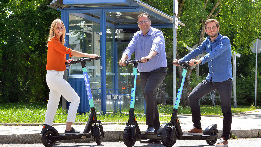 06/2019, TIER Elektroscooter München