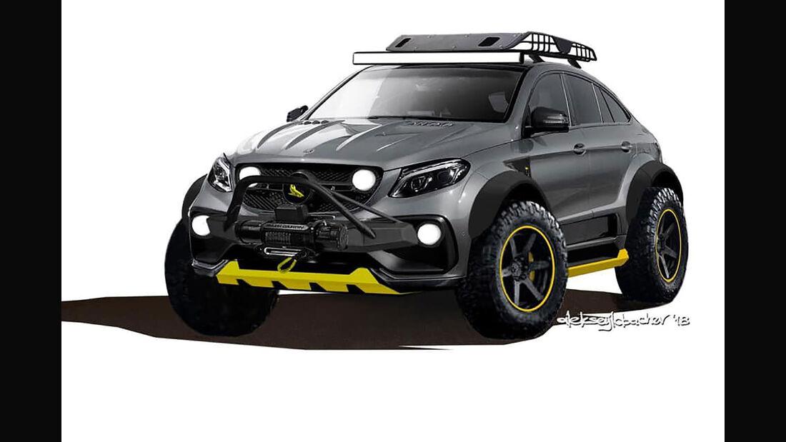 06/2019, TopCar Mercedes GLE Coupe Inferno 4x4*2