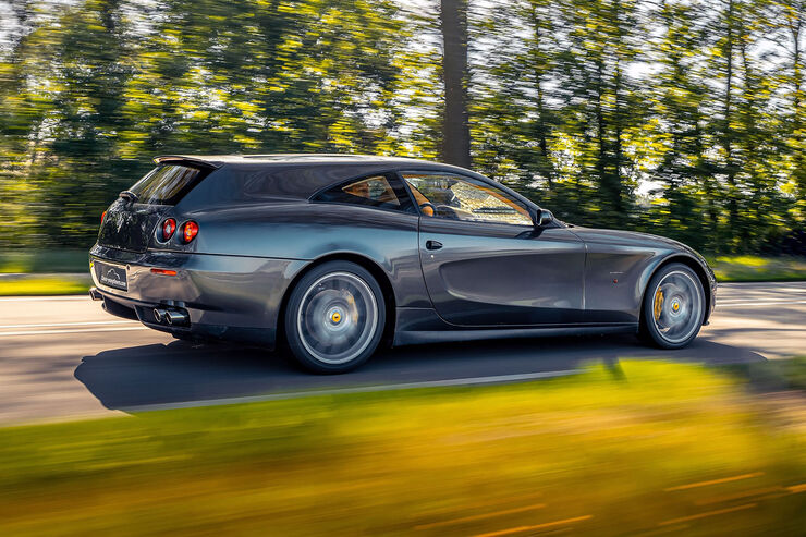 Ferrari 612 Scaglietti Shooting Brake Dank Vandenbrink Auto Motor Und Sport