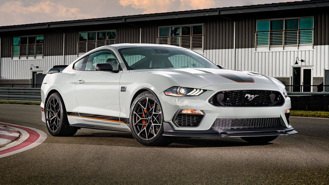 06/2020, 2021 Ford Mustang Mach 1