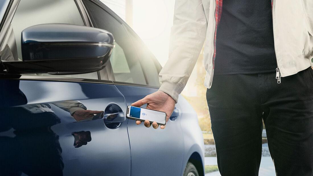 06/2020, Apple Digital Key bei BMW