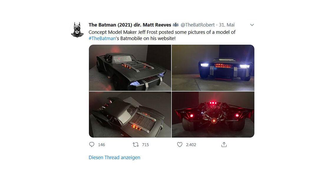 06/2020, Batmobil 2021