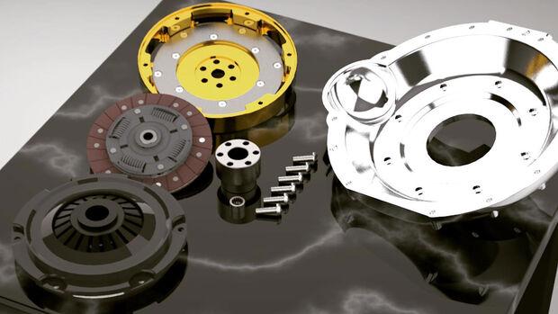 06/2020, Electric GT Getriebe-Adapter Elektromotor