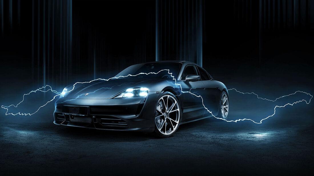 06/2020, Techart Porsche Taycan Turbo