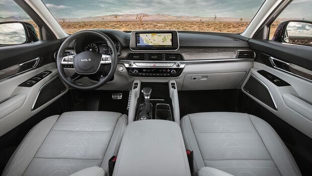 06/2021, 2022 Kia Telluride Facelift Modellpflege