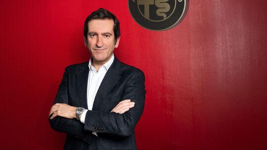 06/2021, Alejandro Mesonero-Romanos Chefdesigner Alfa Romeo