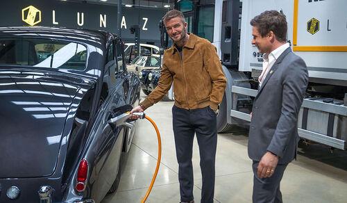06/2021, David Beckham Investor Lunaz Design