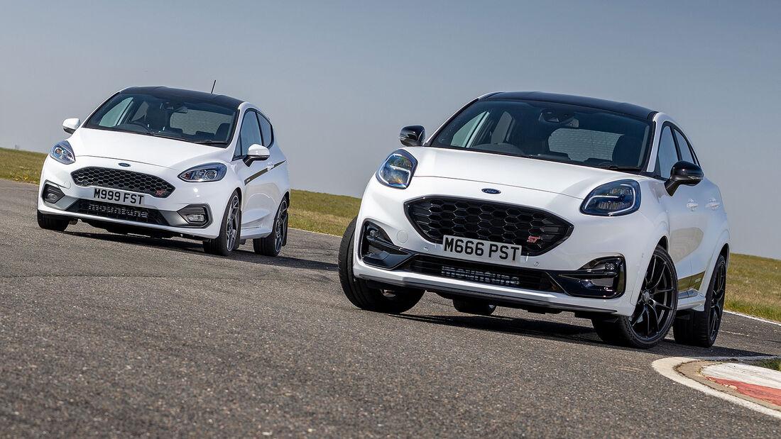 06/2021, Ford Puma ST und Fiesta ST mit Mountune Tuning-Kit