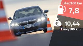 06/2021, Kosten und Realverbrauch BMW Alpina D3 S