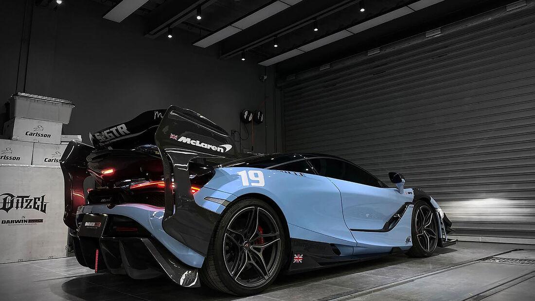 06/2021, McLaren 720S von Darwin Pro Aerodynamics Evolution