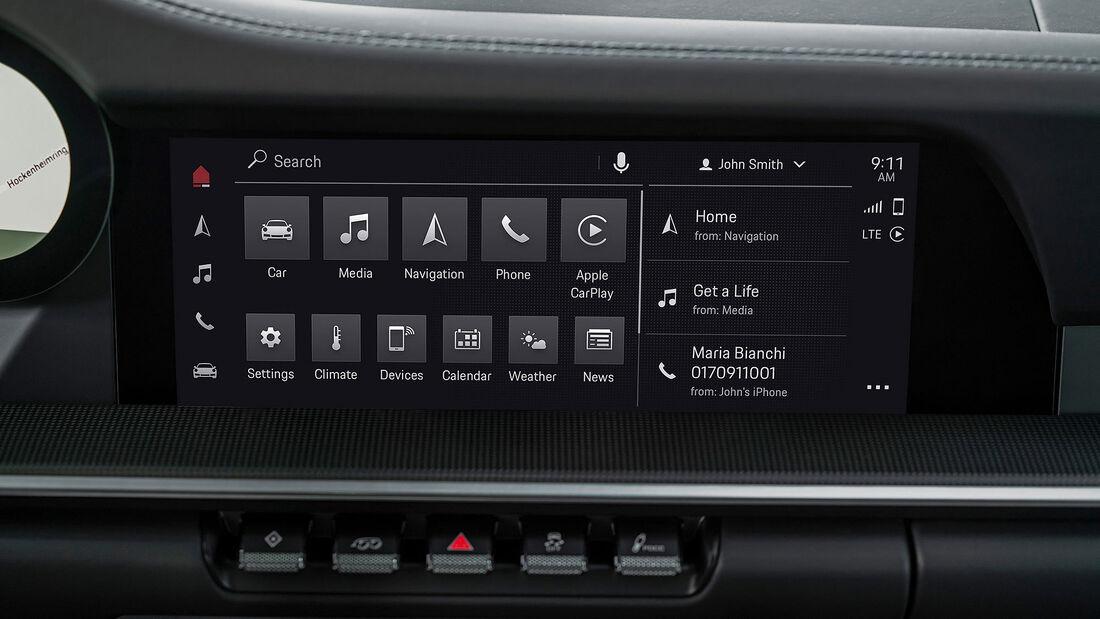 06/2021, Porsche Communication Management 6.0