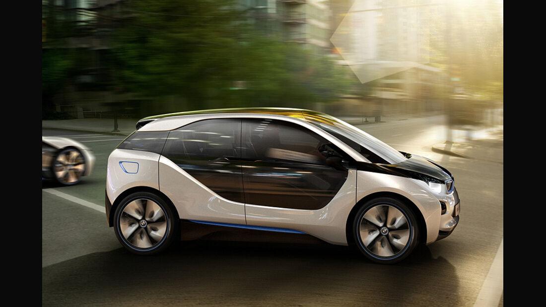 07/2011, BMW i3 Concept, BMW i8 Concept