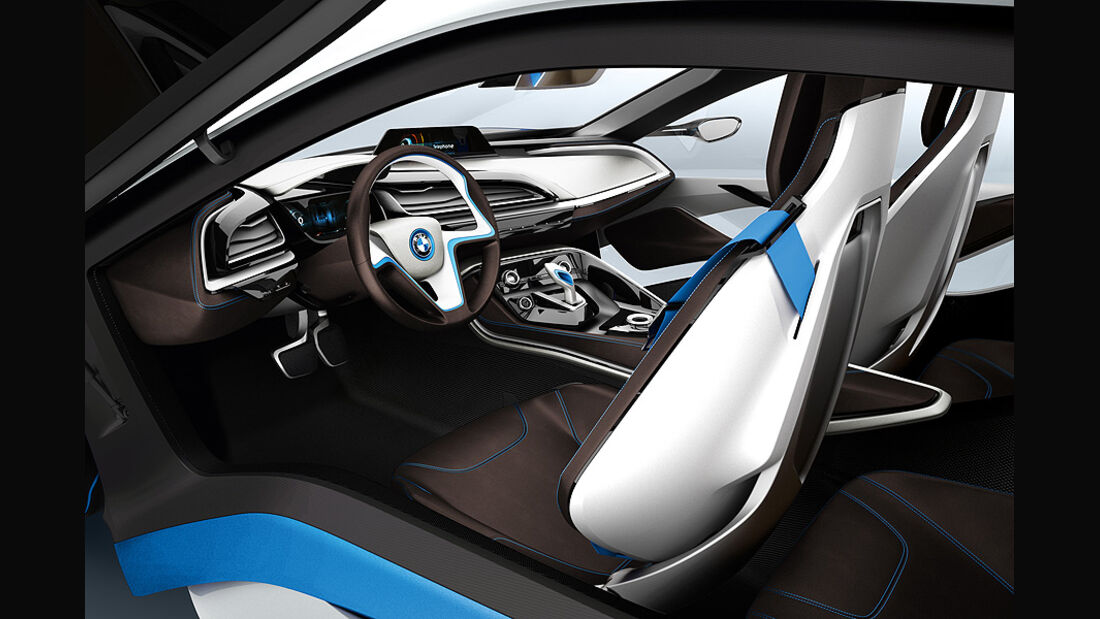 07/2011, BMW i8 Concept, Innenraum