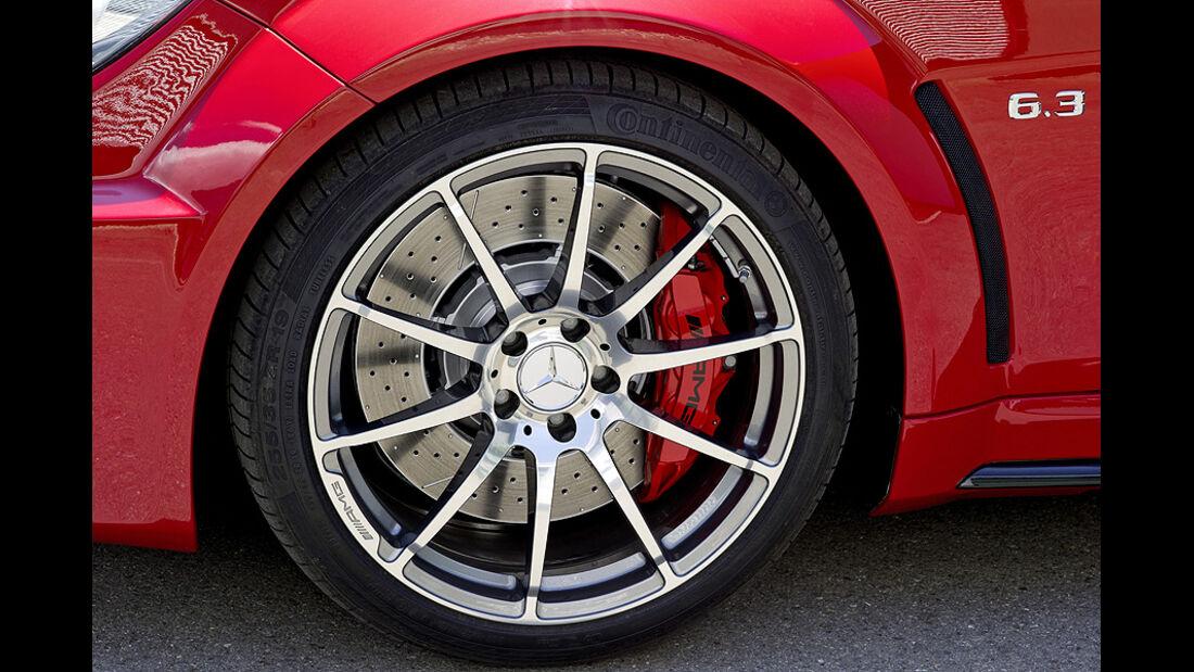 07/2011, Mercedes C-Klasse Coupé C 63 AMG Black Series, Rad, Felge, Bremse