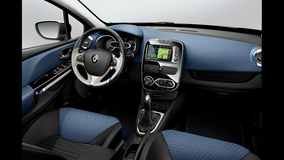 07/2012, 2012 Renault Clio, Cockpit, Innenraum