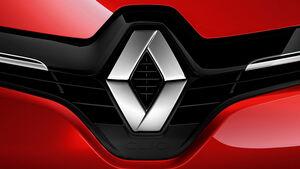 07/2012, 2012 Renault Clio, logo Rhombus