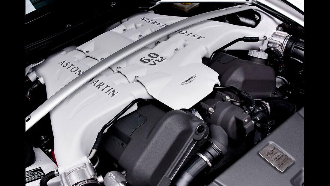 07/2012, Aston Martin V12 Vantage Cabrio, Motor