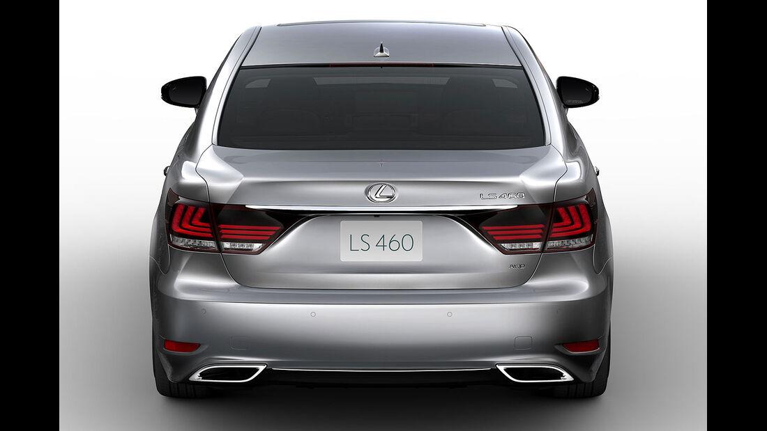 07/2012, Lexus LS 2013 LS 460
