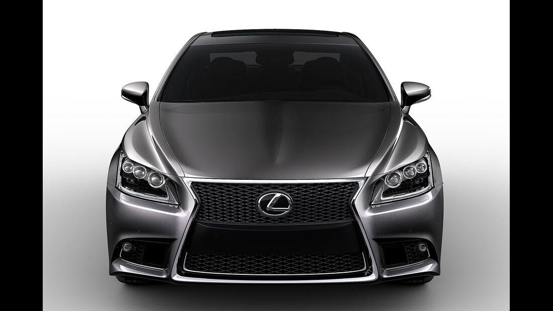 07/2012, Lexus LS 2013 LS 460 F Sport