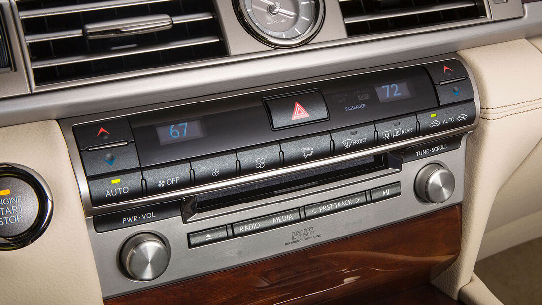 07/2012, Lexus LS 2013 LS 460, Klimaanlage