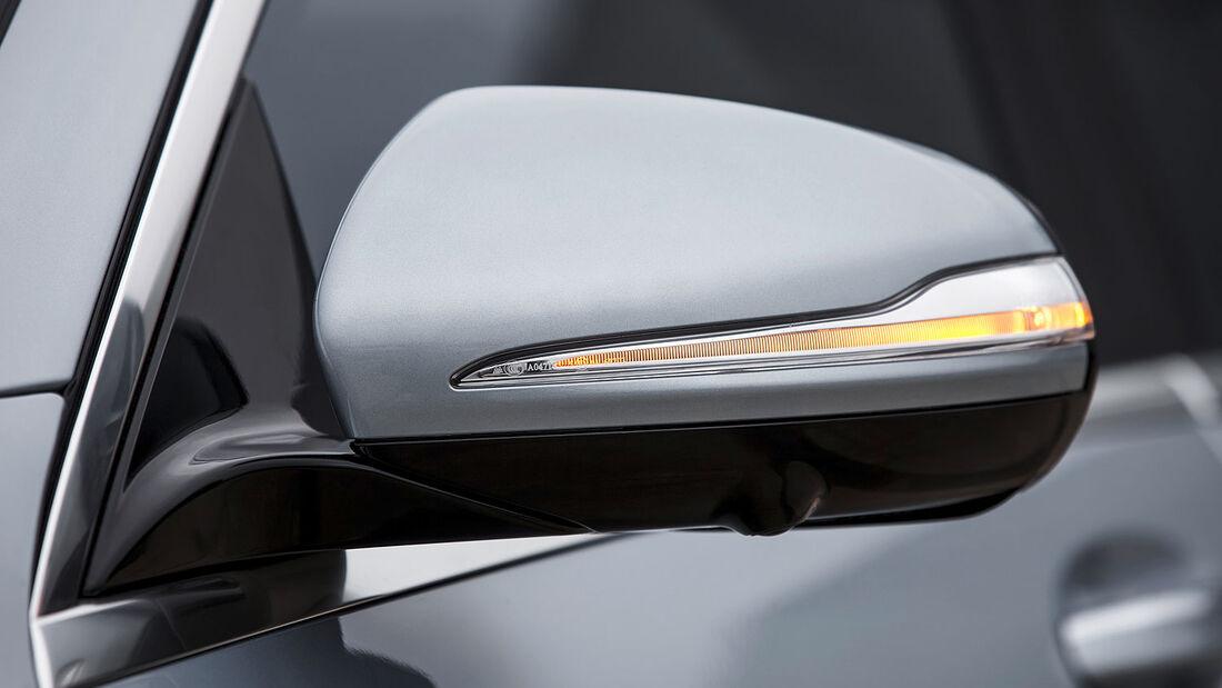 07/2013 Mercedes S 63 AMG S-Klasse, Außenspiegel