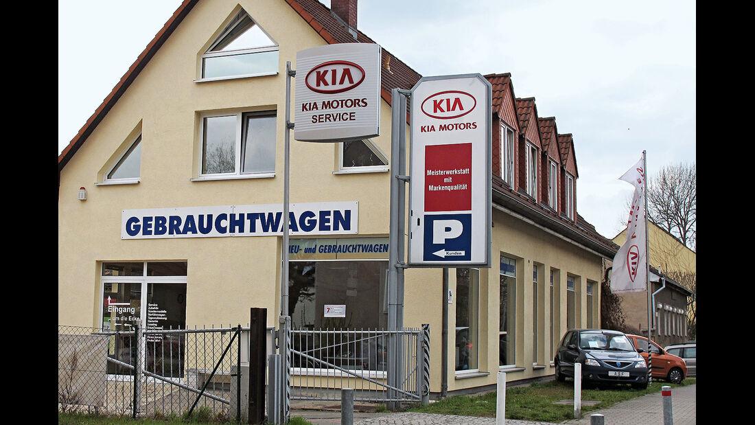 07/2013 Werkstättentest Kia