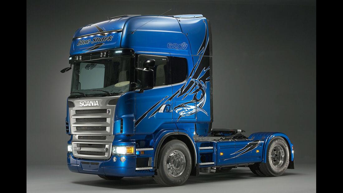 07/2014, Scania Showtruck Svempas Blue Shark