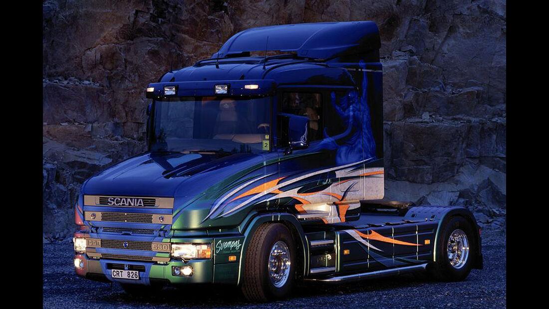 07/2014, Scania Showtruck Svempas Scania T
