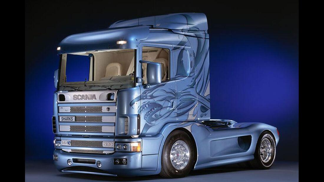 07/2014, Scania Showtruck Svempas Shark I