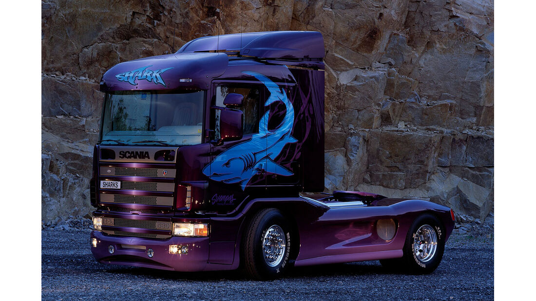07/2014, Scania Showtruck Svempas Shark II