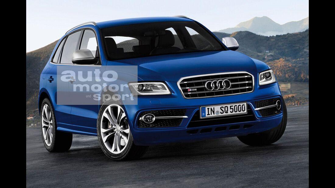 07/2015, Audi Q5 ohne Singleframe-Grill