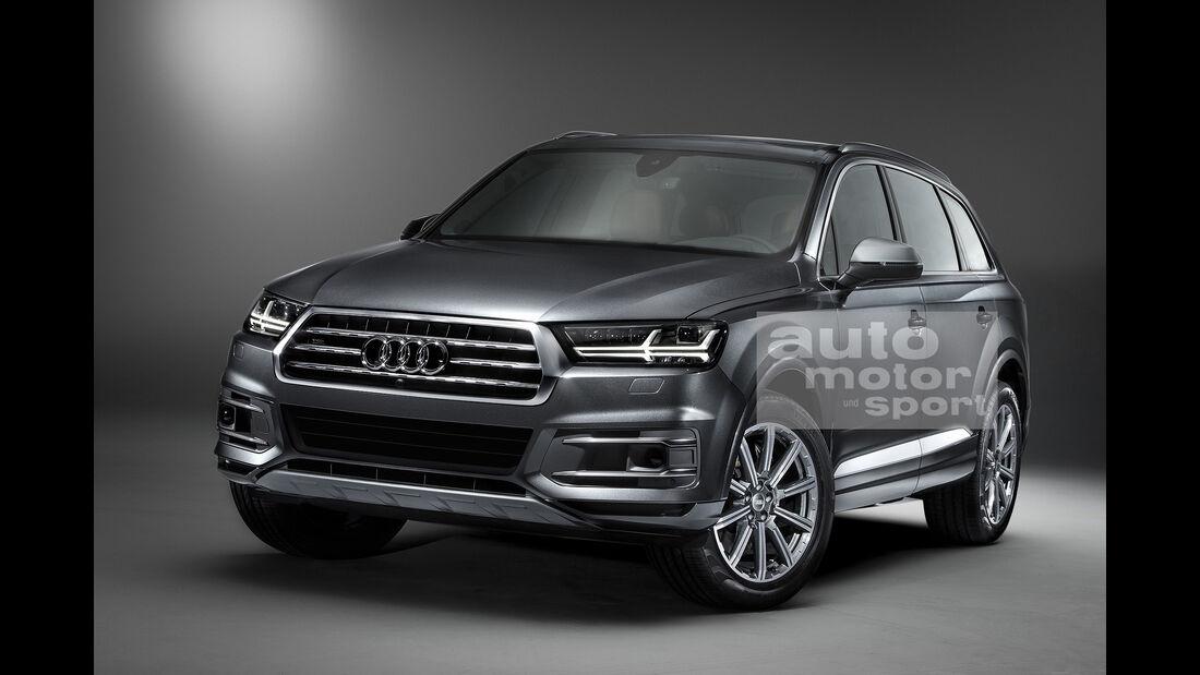 07/2015, Audi Q7 ohne Singleframe-Grill
