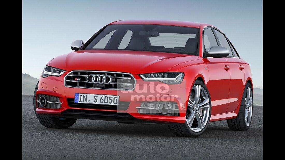 07/2015, Audi S6 ohne Singleframe-Grill