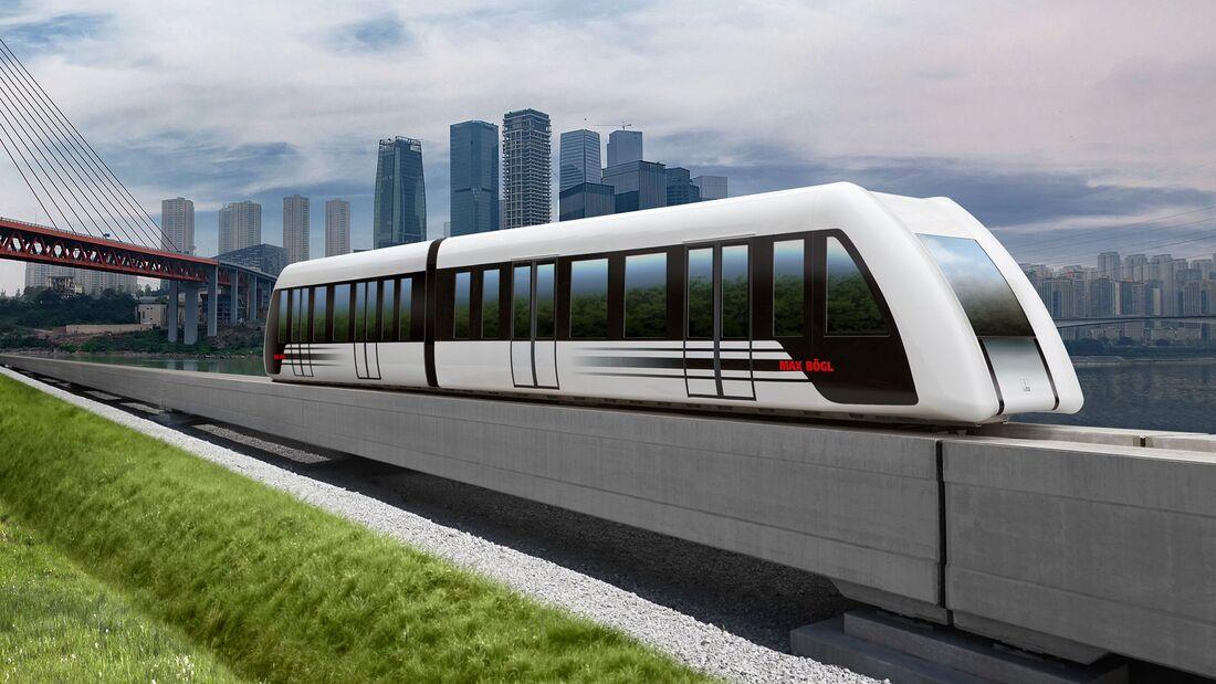07/2018, Magnetschwebebahn Max Bögl Transportsystem
