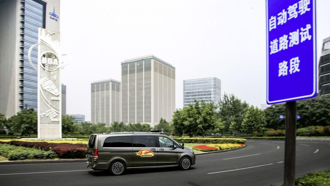 07/2018, Mercedes-Benz Autonom in Peking