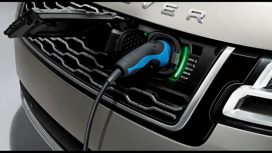 07/2018, Range Rover PHEV Anschluss