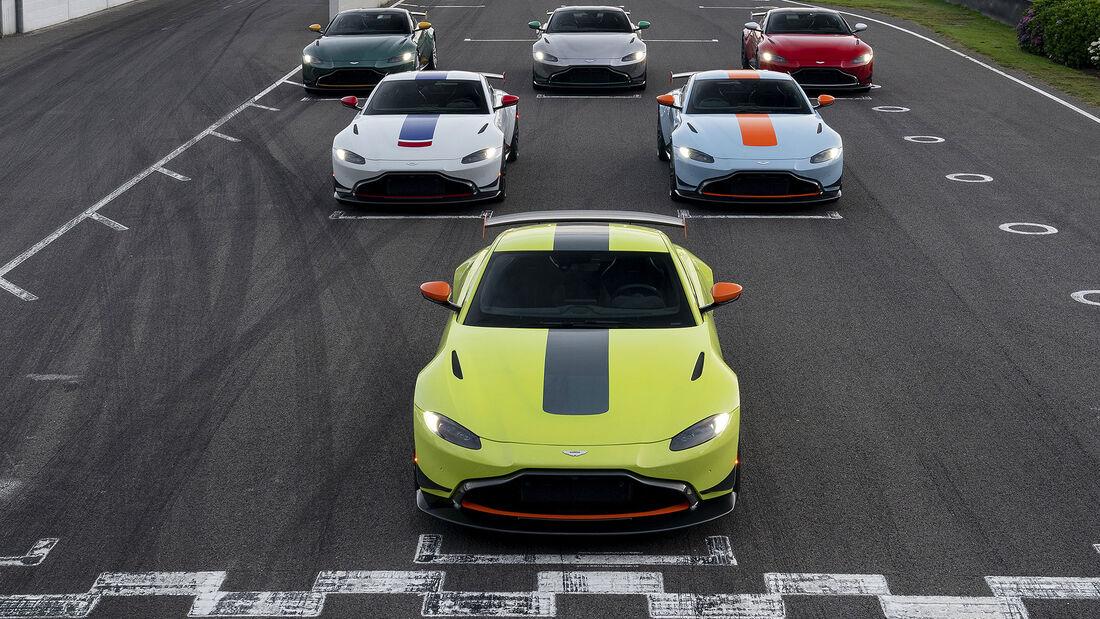 07/2019, Aston Martin Vantage Heritage Racing Editions