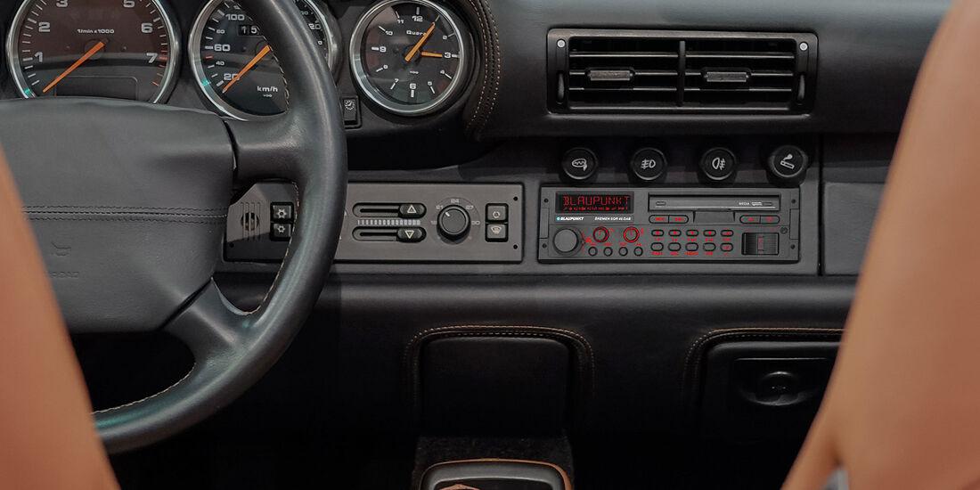 07/2019, Blaupunkt Bremen SQR 46 DAB im Porsche