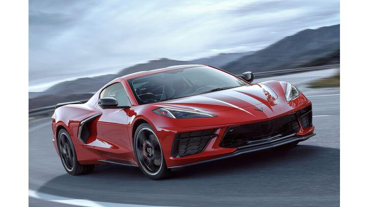Chevrolet Corvette Stingray C8 Marktstart Daten Preise Auto Motor Und Sport