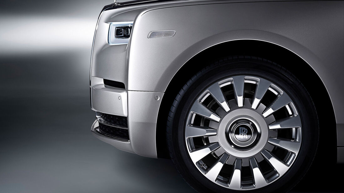 07/2019, Feststehende Radnabenkappe Rolls-Royce